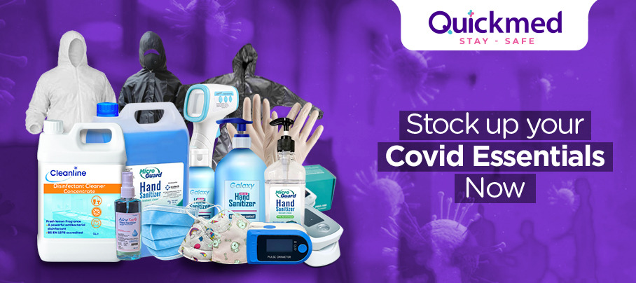 Stock up your Covid Essentials Now