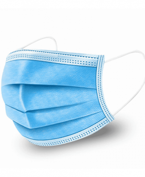 3 Ply Disposable Face Mask (50 Pack)