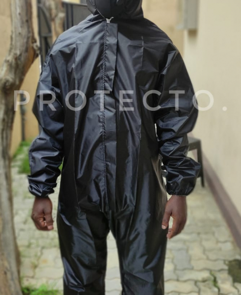 Re-usable Coverall PPE Kit - Black