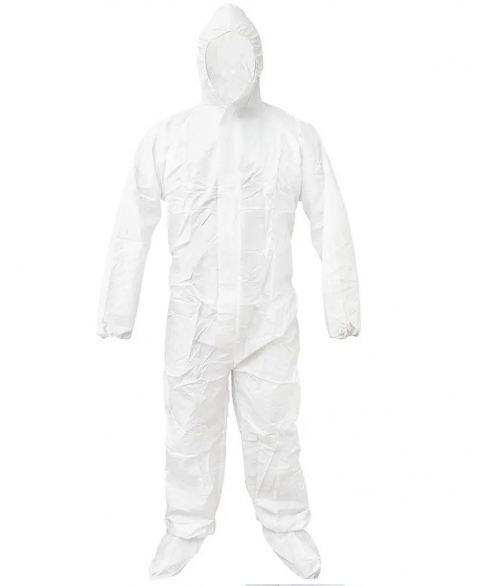 Disposable Coverall PPE Kit - White