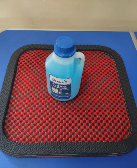 """Sanitizing Mat with Chemical for 5L Disinfectant Can (17""""x22"""")"""