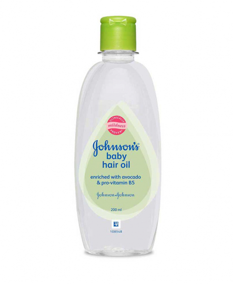 Johnson's Baby Avacado Hair Oil 200ml TBP B-200 ml