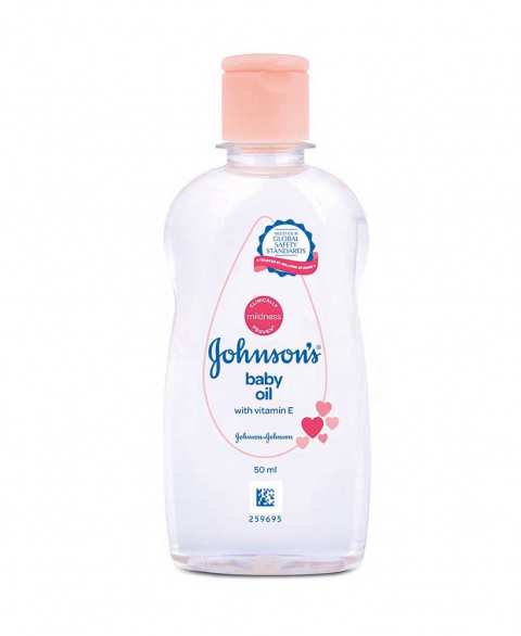 Johnson's Baby Oil LC with VitaminE -B-50 ml