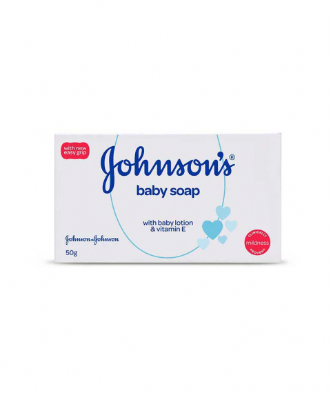 Johnson's Baby Soap 50 gm - DTV - B-50 gm