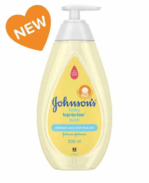 Johnson's Tip To Toe Baby Wash 500ml - B-500 ml