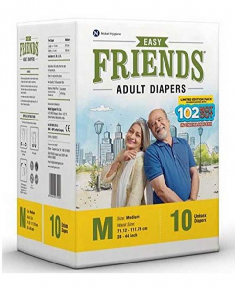 Friends Adult Diapers Easy M
