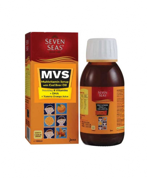 Ss Multi Vitamin Syrup With Clo 100ml