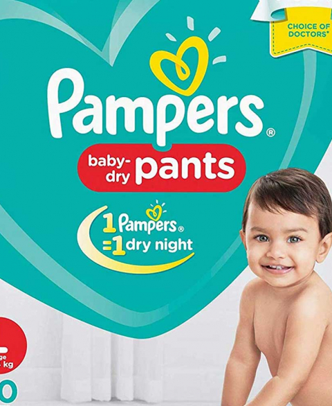 Pampers Pants Lg 20'S