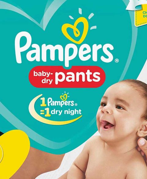 Pampers Pants Small 20'S
