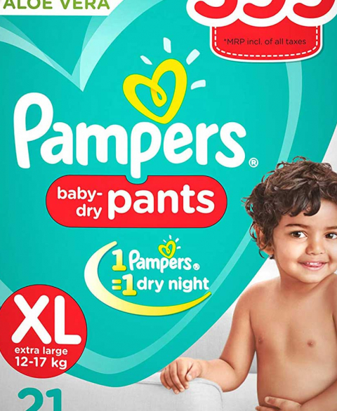 Pampers Pants Xl 21s