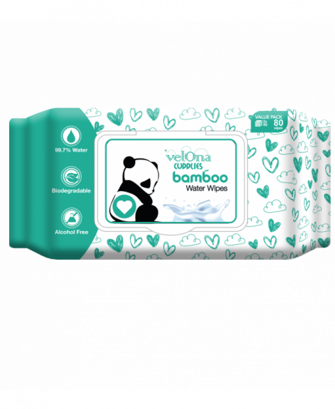 Velona Cuddles Bamboo Water Wipes