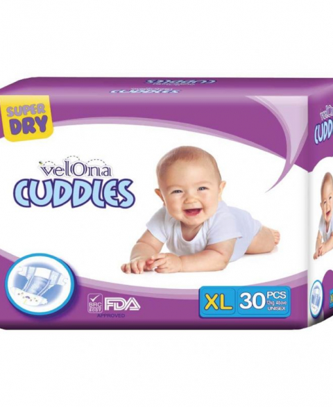 Velona Cuddles Classic Diaper Jumbo Pack Extra Large