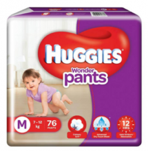 Huggies Wonder Pants Size M 76Pcs Pack