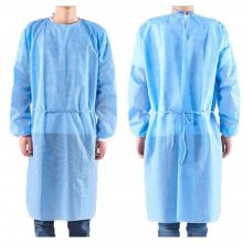 Disposable Surgical Gown - Blue 30gsm