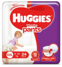 Huggies Wonder Pants Size XXL 24 Pcs Pack